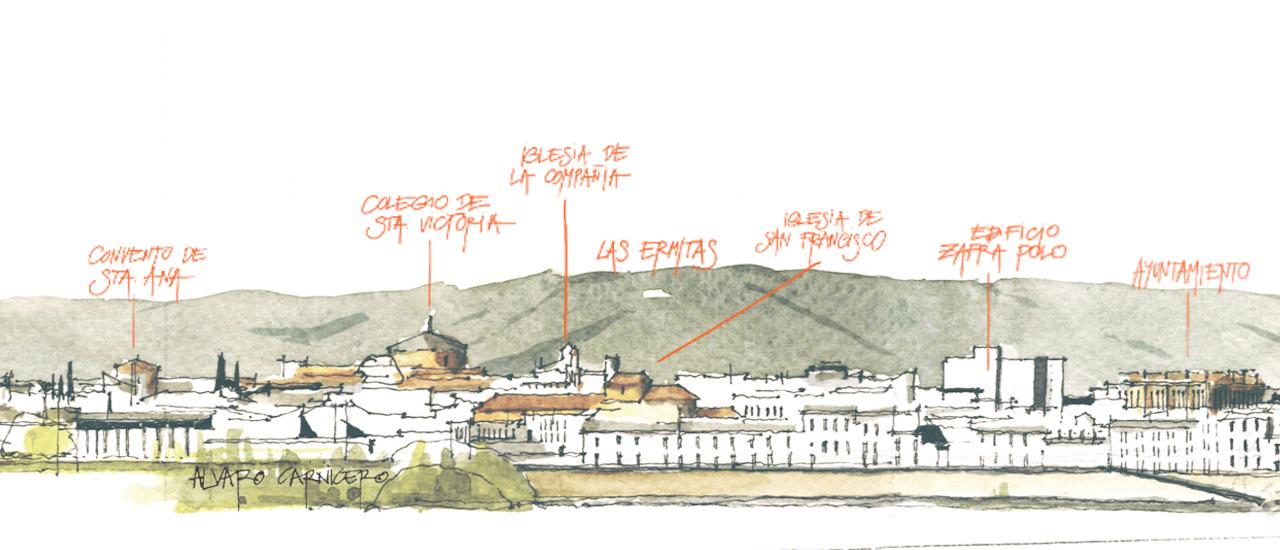 Detalle dibujo Álvaro Carnicero