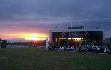 Restaurante El Mirador del Rio Balcón de Córdoba - Atardecer