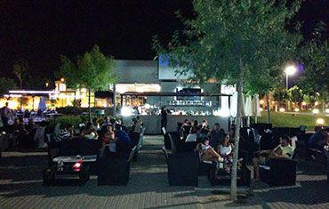 Restaurante El Mirador del Rio Balcón de Córdoba - Terraza de noche