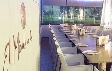 Restaurante El Mirador del Rio Balcón de Córdoba - Mesas