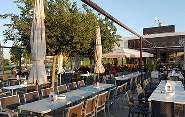 Restaurante El Mirador del Rio Balcón de Córdoba - Terraza de verano