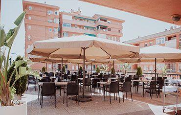 Restaurante El Mirador del Rio Carlos III -Restaurante El Mirador del Rio Carlos III - Terraza