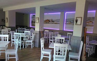 Restaurante El Mirador del Rio Noreña - Mesas Interior